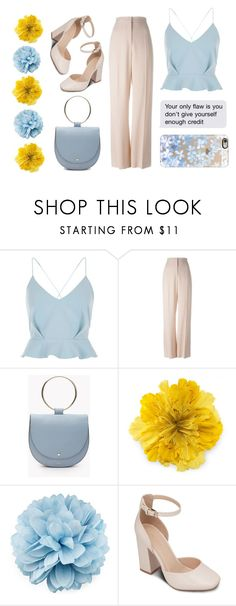 """""""Blue_blinddate_"""" by albertea ❤ liked on Polyvore featuring River Island, STELLA McCARTNEY, Gucci, ZALORA and Casetify"""