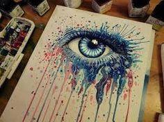 Resultado de imagen para dibujos de ojos a color