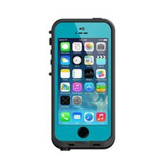 I so want this for my phone!  Lifeproof iPhone 5S Fre Case-Teal/Black