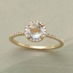 I love the classic, romantic, gold look