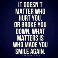 No matter who hurt you