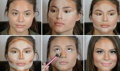 Fotos de moda | El maquillaje puede cambiar nuestro rostro | http://fotos.soymoda.net