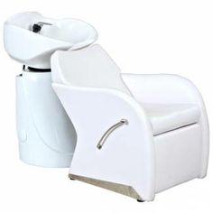 Shampoo Backwash Chair Barber Bowl Salon Spa Facial W4