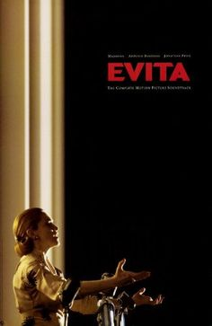 Evita Movie Poster x Alan Parker, Jonathan Pryce, Wall Art Prints, Poster Prints, Poster Frames, Cool Posters, Movie Posters, Hollywood Pictures, World Movies