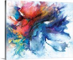 "An ""encaustic"" (wax) painting"