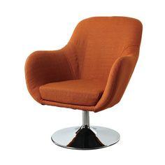 Found it at AllModern - Lounge Chair in Orange