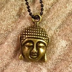 I just discovered this while shopping on Poshmark: SET OF 2x! Golden Buddha Pendant Necklace. Check it out! Price: $19 Size: OS, listed by dgoosenberg