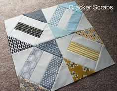 Cracker Scraps by Angela Pingel at Cut To Pieces