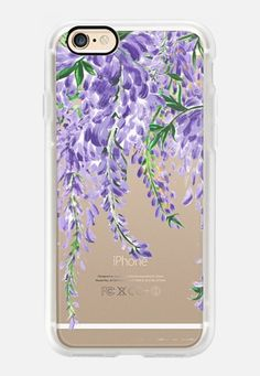 Casetify iPhone 7 Case and Other iPhone Covers - Wisteria by Dorina Nemeskéri | #Casetify
