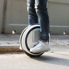 Ninebot One Self-Balancing Scooter #Balance, #Futuristic, #Ingenious, #Ride, #Scooter