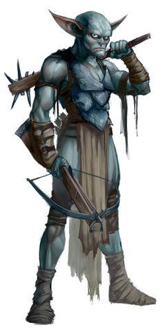 Goblin ranger