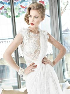 Bridal Wedding Dresses: YolanCris 2013 Spring Couture Bridal Wedding Dresses