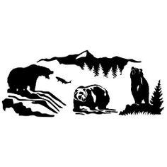 Wilderness Kodiaks Bear Wall Decal