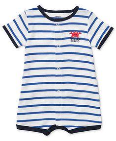 Carters Baby Romper, Baby Boys Short Crab Creeper - Kids Baby Boy (0-24 months) - Macys