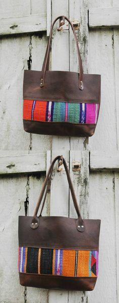 Vintage Kilim Tote Bags | via Etsy