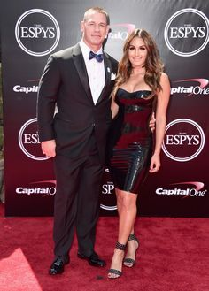 Nikki Bella Photos - Professional wrestlers John Cena and Nikki Bella attend the 2016 ESPYS at Microsoft Theater on July 13, 2016 in Los Angeles, California. - The 2016 ESPYS - Arrivals