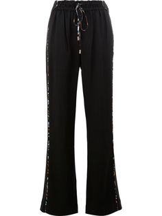 PETER PILOTTO Wide Leg Drawstring Trousers. #peterpilotto #cloth #trousers
