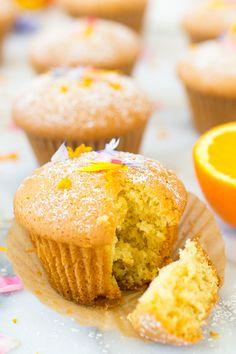 Lemon Orange Olive Oil Cupcakes