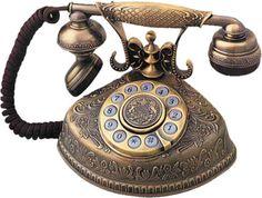 tube telephone antique