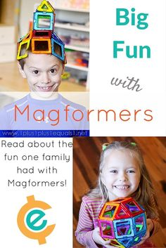 Magformers Packs Big Fun Into a Small Package--Fun and educational
