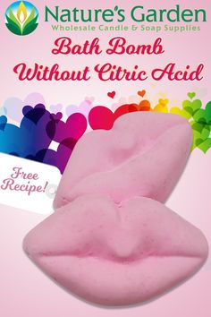 Free Bath Bomb Without Citric Acid Recipe by Natures Garden