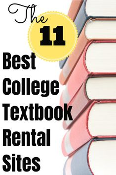Looking to rent textbooks for college? Compare the pros and cons of the 11 best college textbook rental sites available today.