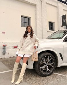 Winter Fashion Outfits, Look Fashion, Spring Outfits, Autumn Outfits, Sweater Fashion, Autumn Fashion, Looks Chic, Looks Style, Cute Casual Outfits
