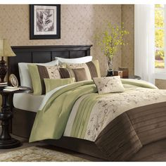 Madison Park Grace 7-piece Comforter Set - Overstock™ Shopping - Great Deals on Madison Park Comforter Sets