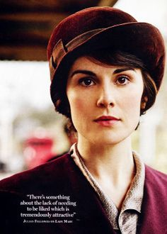 Julian Fellowes on Lady Mary - Downton Abbey hats and costumes