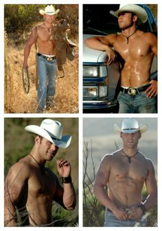 Never in my whole life of living in the country, working on a ranch, cowboy bars???  did I ever run into anyone that looked like this!!.