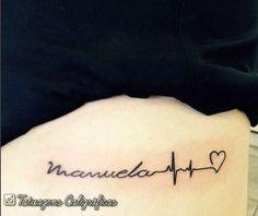 21 Idéias de tatuagens para homenagear os filhos