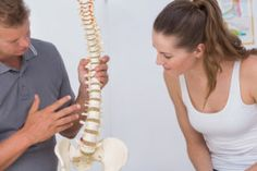Often referred to as a slipped disc, a herniated disc is caused when the soft nucleus inside the center of a vertebra pushes through to the outside.