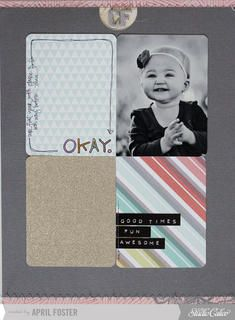 Okay *34th Street scrapbook kit only* by April Foster at Studio Calico