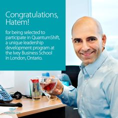 Steeped Tea is pleased to announce that Steeped Tea's CEO/President has been selected as a participant in QuantumShift! www.steepedtea.com