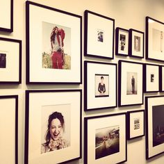 A quick BRIKA visit + a shot of the photo wall at J. Crew