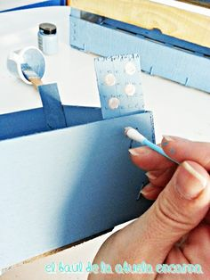 Pintar con Chalk Paint Cajas de Frutas