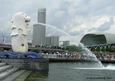 Merlion Park, Singapore ~ what to do in Singapore