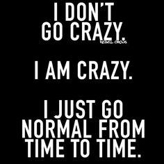 Crazy me :)