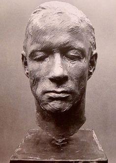 """Gerhard Richter  Bust of Palermo from  """"Zwei Skulpturen für einen Raum von Palermo""""  1971"""