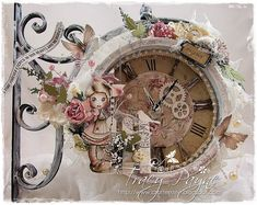 Crafteezee: Altered Vintage Clock