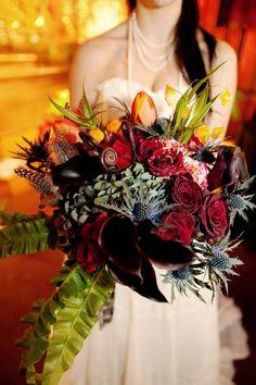 wow! wintery bouquet