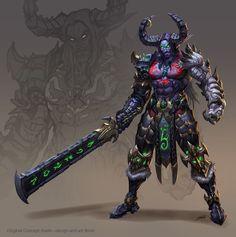 #warcraft #elfe #elf #demon #hunter