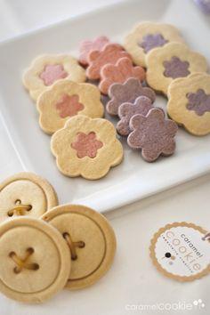 Galletas de mantequilla | caramel cookie