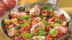 Fisch-Gemüse-Pfanne
