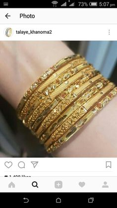 Gold Bangles Design, Gold Bracelets, Jewels, Jewellery, Antique, Bride, Jewelry Bracelets, Gold Charm Bracelets, Wedding Bride