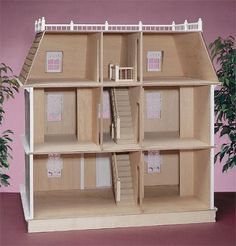 Williamsburg Dollhouse Kit- The Magical Dollhouse