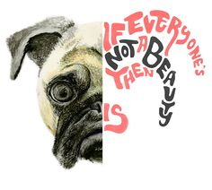 Creating an illustration for an Advertising campaing concerning Animal Shelter Adoption, incorporating one of Andy Warhol's quotes.