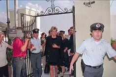 September 18 1996 Diana attended the funeral in Greece of Yannis Kaliviotis