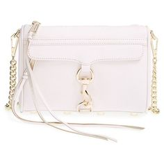 Rebecca Minkoff 'Mini MAC' Convertible Crossbody Bag ($195) ❤ liked on Polyvore