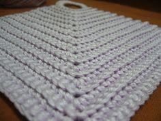 Crochetkari: Potholder pattern and Tutorial